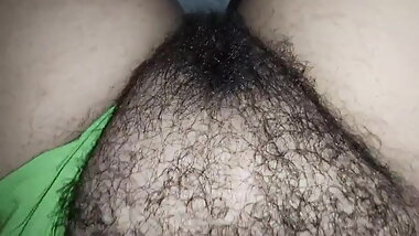 Wife big bush