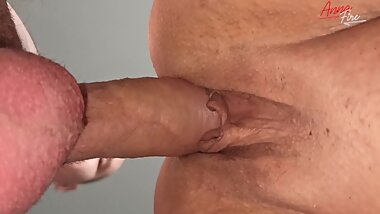 My son pumped me with cum (close fuck)