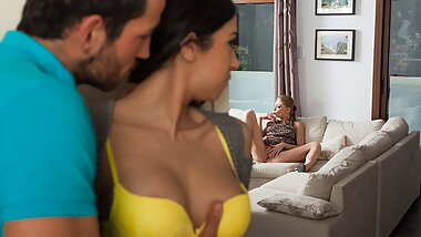 Julia de Lucia gets curious and horny for threesome