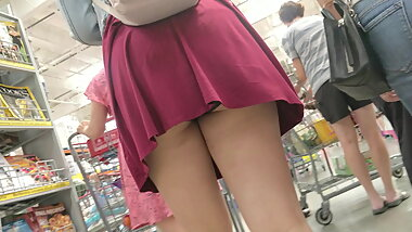 Cute Asian Teen Upskirt