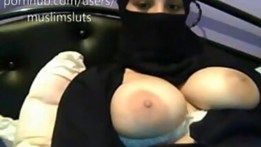Hijab webcam tits flash