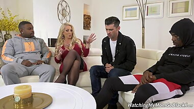 Alura Jenson fucks BBC in front of Stepson